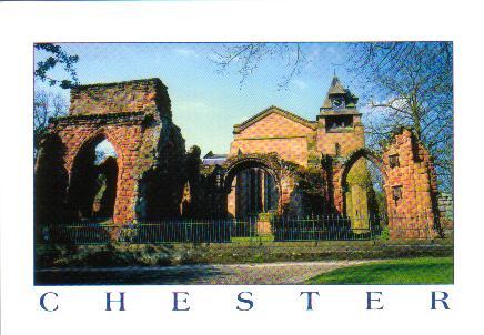 Postcard Sunday: England